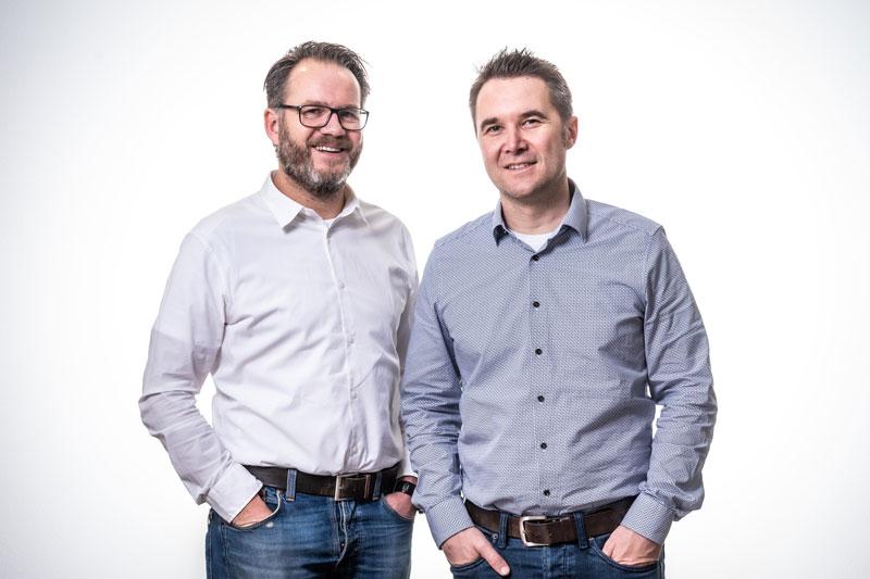 Geschäftsführung Simon Hennig und Claudius Hennig